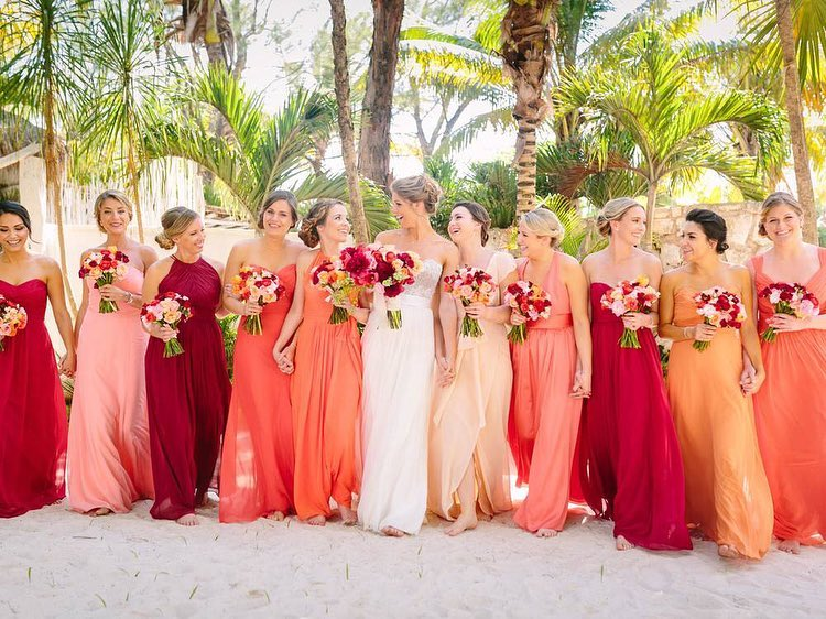 Living coral: wedding trend 2019